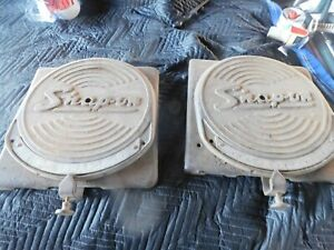 Vintage Snap On Wa 64 Wheel Alignment Turning Plates Pair Really Cool Local Pick