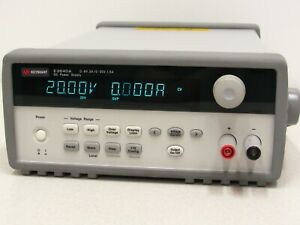 Agilent Keysight E3640a Dc Power Supply Dual Range 0 8v 3a And 0 20v 1 5a 3