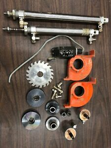 Holzher Sprint 1411 2 1157 Edge Bander Trimmer Assembly Parts Air Cylinders