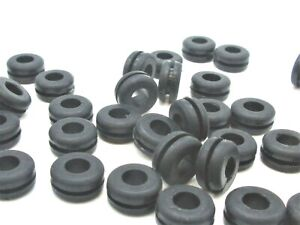 7 16 Rubber Grommets 5 16 Id 5 8 Od For 1 16 Thick Plastics And Materials