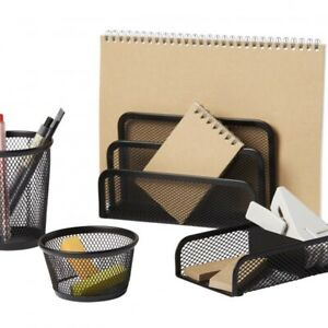 Pen gear 4 piece Desk Organizer Set