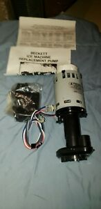 Beckett Ice Maker Manitowoc Brpap1 Water Pump