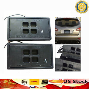 New Remote Control Retractable Hidden Flip Car License Plate Flipping For Usa