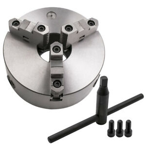 Lathe Chuck 200mm Self Centering 3 Jaw Mounting 3 m10 Fit K11 200a 8 Inch New