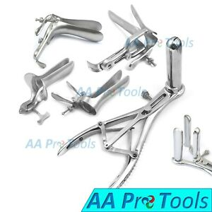 3 Prong Mathiue Collin Graves Cusco And Pederson Speculum Small Set Ob gyn