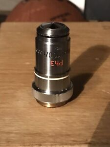 Carl Zeiss Ph3 Neofluar 100 1 30 Oil Phase Contrast Objective 160mm