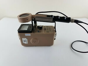 Ludlum Model 3 Geiger Counter With 44 9 Probe Last Calibration 2012