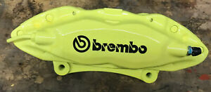Ford Mustang Pair 2 Brembo Front Lh Rh Powdercoated Calipers W Pin Kit