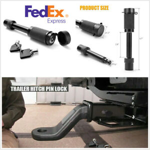 5 8 Trailer Hitch Pin Lock Truck Towing Hitch Receiver Peg Bolt With 2 Keys Us