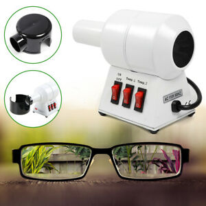 Compact Design Hot Air Eyeglasses Frame Warmer Frame Heater Good Performance