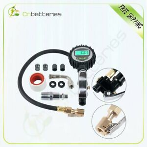 New Digital Tire Inflator With Pressure Gauge 0 200 Psi All Vehicles Usa Stock