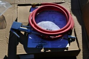 Milton 02 f1 506 Tire Inflator Gage And Hose New