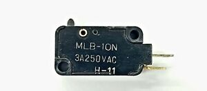 Mulon Mlb 10n spst On off Push Button Plunger Micro Switch 3a 250 V Ac