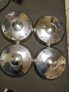 1961 62 Ford Galaxie Dog Dish Hubcaps 4