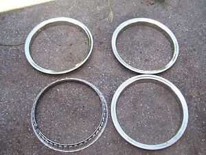 16 Inch Stainless Trim Rings