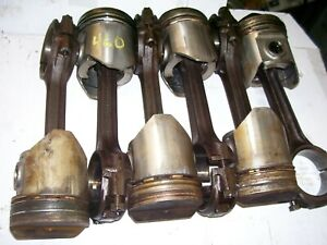 Vintage International 460 Gas Utility Tractor engine Rods Pistons As is