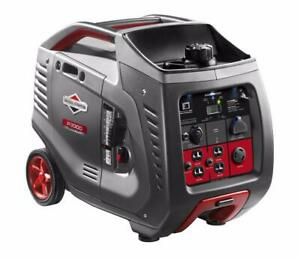 Briggs Stratton P3000 Powersmart Series 3000 Watt Inverter Generator 30545
