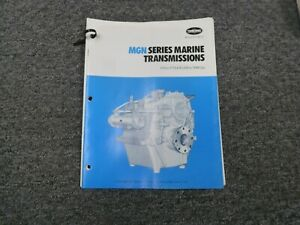 Twin Disc Mgn 827h Transmission Assembly Dimensional Specifications Manual