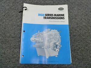 Twin Disc Mgn 1027h Transmission Assembly Dimensional Specifications Manual