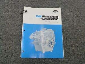 Twin Disc Mgn 1724h Transmission Assembly Dimensional Specifications Manual