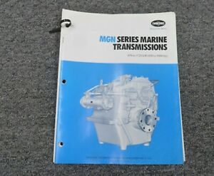 Twin Disc Mgn 2625h Transmission Assembly Dimensional Specifications Manual
