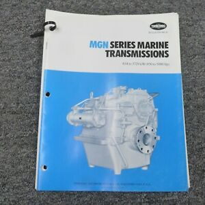 Twin Disc Mgn 2627h Transmission Assembly Dimensional Specifications Manual