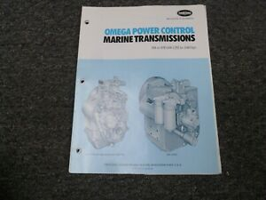 Twin Disc Mg 514m Marine Transmission Assembly Dimensional Specifications Manual