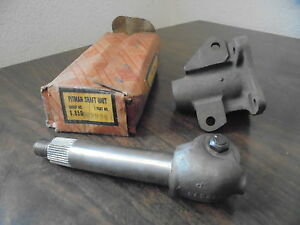 1937 Chevrolet Master Deluxe Coupe Sedan Nos Pitman Shaft Housing With Busnings