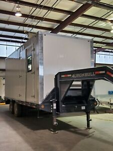 20 Ironbull Gooseneck Trailer Enclosed