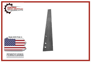 Steel Wide Out Snow Plow Cutting Edge Replacement For Western 81996 Wideout