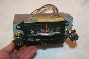 Mint Original Genuine Ford 1973 Mustang Am Fm Radio One Year Only Application
