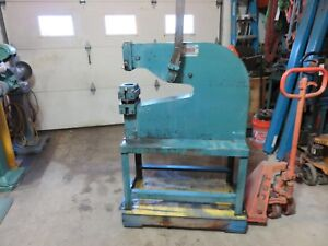 Roper Whitney 33 18 Lever Punch 8 Ton Punch Press Diacro pexto Metal Punch