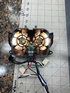 Ford Explorer Sport Trac Overhead Console Map Lights Assembly 99 05 Tested