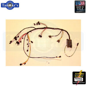 1966 Chevelle El Camino Malibu Dash Wiring Harness W Factory Gauges Usa Made