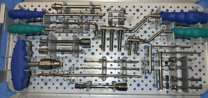 Orthofix Galaxy Fixation Complete Upper Extremities Basic Set Perfect Condition