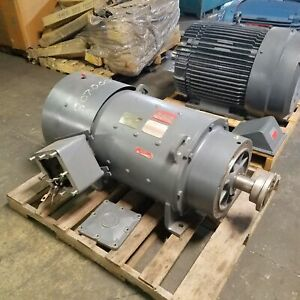 General Electric 5by458a10 60hp Dc Kinamatic Motor