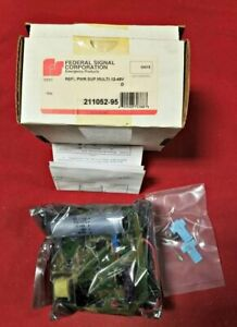 Federal Signal Replacement Strobe Light 12 48v Power Supply 211052 95
