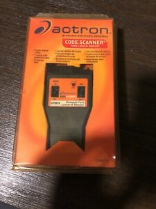 Actron Code Scanner Ford Lincoln Mercury Pn Cp9015 Covers 1981 1995 Cars