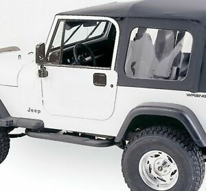 Rampage Complete Soft Top With Frame Hardware Black Diamond For Jeep Cj7 Yj