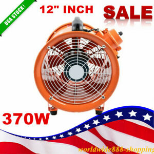12 Explosion Proof Axial Fan Automatic Cool Air In Potentially Explosive Garage
