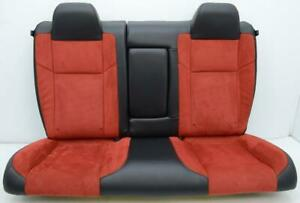 2011 2012 2013 2014 2015 2016 Dodge Challenger R t Srt Rear Red Leather Seats