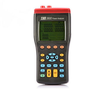 Tes 3600 3 Phase Power Analyzer Tester True Rms With Software New