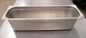 15 Stainless Steel 20 7 8 x6 3 8 x5 1 2 Steam Table Insert Food Pan