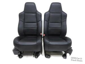 Ford Super Duty F250 F350 New Katzkin Seats 2000 2001 2003 2004 2005 2006 2007
