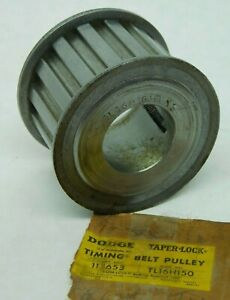 New Dodge Tl16h150 113653 Taper lock Timing Belt Pulley Free Shipping Lv