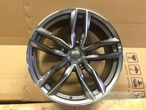 20 Rs6 Style Hyper Gunmetal Wheels Rims Fits Audi B6 B7 B8 S4 Sedan Avant