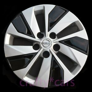 1x New 16 Hubcap Rim Wheel Cover For 2019 2020 Nissan Altima Silver Black