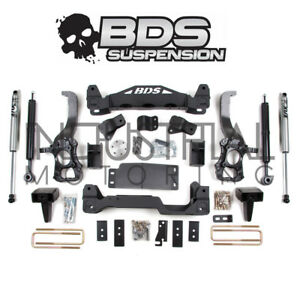Bds Suspension 2009 2013 Ford F 150 4wd 6 Inch Lift Kit Rear Fox Shocks 573h