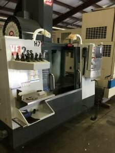 Used 2011 Haas Vf 2ss Cnc Vertical Machining Center Mill 12k Rpm Super Speed Ct