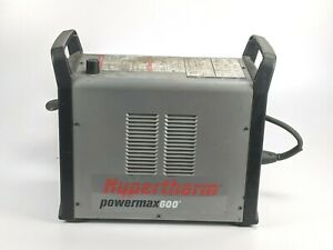 Hypertherm Powermax 600 Plasma Cutter 1ph Power Input